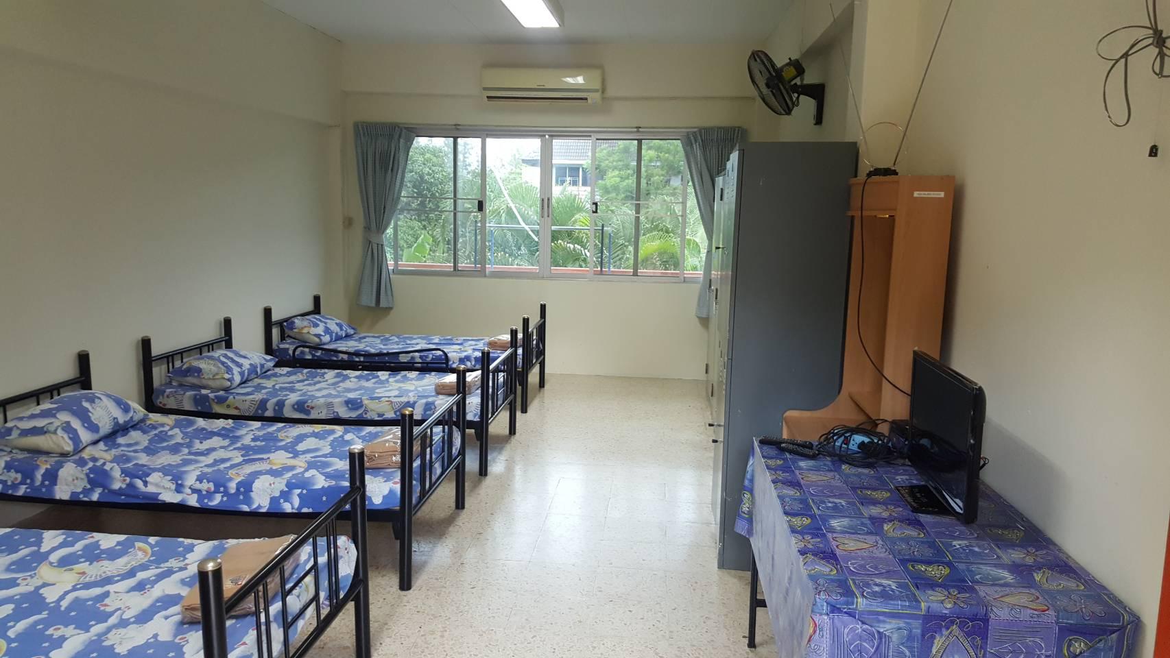 หัองพัก วิทยาลัยป้องกันและบรรเทาสาธารณภัย วิทยาเขตขอนแก่น